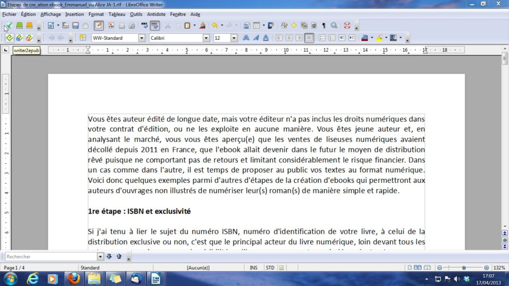 LibreOfficeWriter