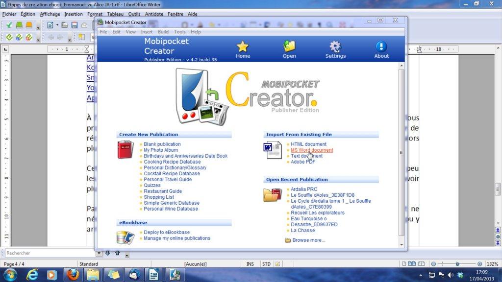 MobiPocketCreator